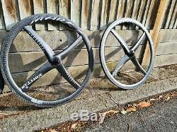 Xentis Mark 1 Carbon Fibre Road Bike wheelset wheels DT Swiss Hed Zipp Corima