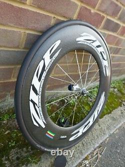 ZIPP 1080 CARBON FIBRE TUBULAR REAR WHEEL Road Bike TT 404 808 700C Campagnolo