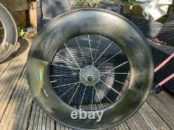 ZIPP 1080 CARBON FIBRE TUBULAR WHEELSET Road Bike TT 404 606 808 700C wheels