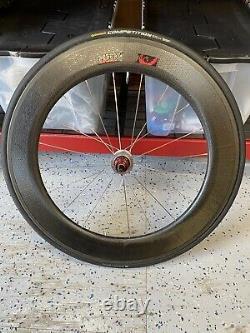 ZIPP 808 Carbon Tubular Rear Wheel Shimano Sram Road Bike Bicycle With Tire 10SP