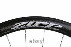 Zipp 303 700C Carbon Road Bike Rear Wheel 10 Speed Tubular QR with Bag