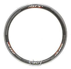Zipp 303 Carbon Alloy Clincher 700c Road Bike Rim 24H Cycling Triathlon Race TT