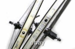 Zipp 404 Carbon Road Bike Wheelset Clincher 11 Speed QR with Wheel Bags