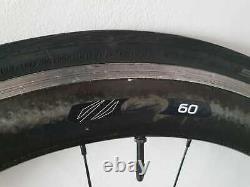 Zipp 60 Carbon wheelset Campagnolo 10 speed Wheels Clincher road bike 700c