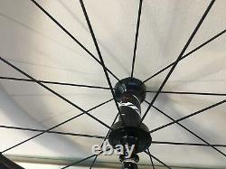 Zipp 808 Firecrest Road Bike Wheel Set 700c Carbon Tubular Shimano 11 Speed