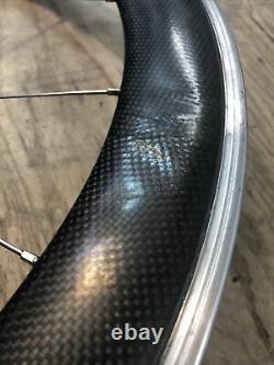 Zipp 909 Carbon Aluminum Front 700c Clincher Road Bike Wheel