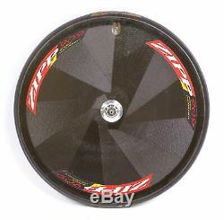 Zipp 909 Speed Weaponry Road Bike Carbon Disc Rear Wheel 10 Speed Tubular 650c