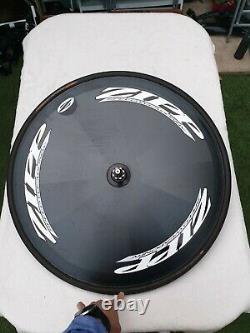 Zipp Speed Weaponry Carbon Disc Rear Wheel Tubular 10/11s Campagnolo Hub Good